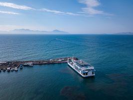 Departure Point, Greek Ferry.