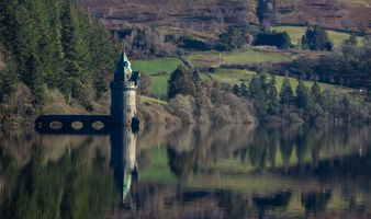 Water Straining Tower at Lake Vyrnwy, Oswestry.