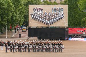 Royal Marines Corp of Drums