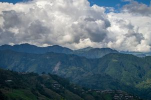 Hilly Landscape in Nepal