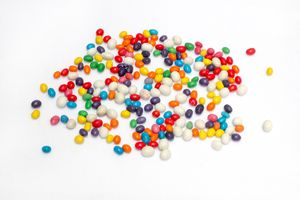 Colorful candy style sugar candy