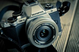 Black-and-white-camera-photography-retro-photo