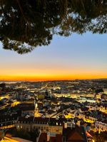 They Say That God Comes to Lisbon to Watch the Sunsets