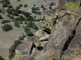 The Bear @ Petroglyph Hills, Santa Fe County NM