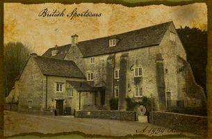 Old postcard - Arlington Mill Bibury