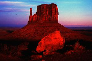 Sunset on the mitten (2)