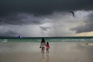 Gloomy day in Boracay