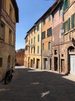Beautiful streets of Siena, Italy