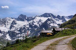 Die Oetztaler Alpen in Südtirol