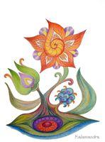 Souldoodle flower