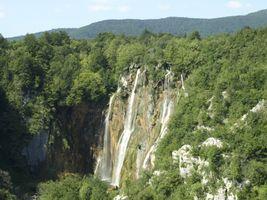 The Big Waterfall, Plitvice, Croatia