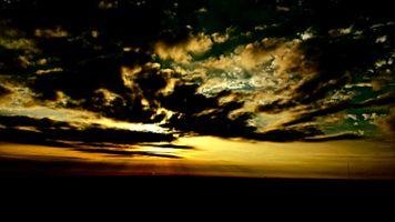 Bright Sky Dark Clouds