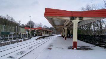 Sowerby Bridge Station Platform 2