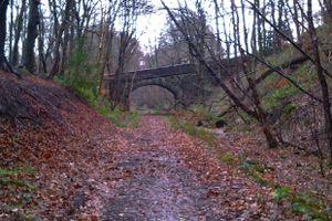 Former Railway Bridge at Triangle.