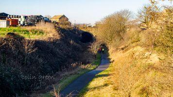 Spen Valley towards Wyke Lane Tunnel