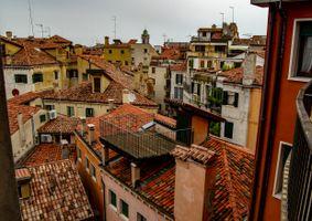 Venetian Rooftops.