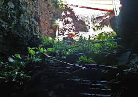 Stairs in the Cave.