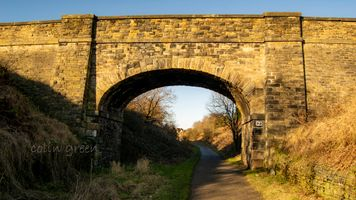 Bridge 3 on the Spen Valley Greenway