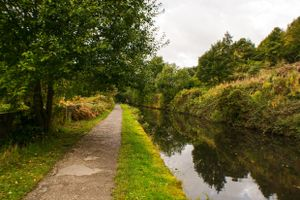 The Canal Towpath.