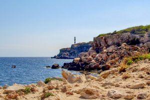 Far del Moscarter and Portinatx Lighthouse, Ibiza