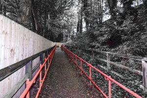 Denby Dale Station Path.
