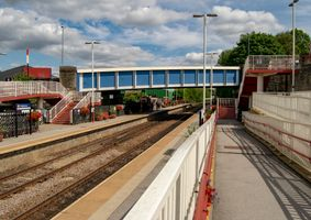 The Bridge over Brighouse Station