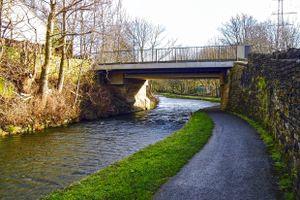 Copley Lane Bridge.