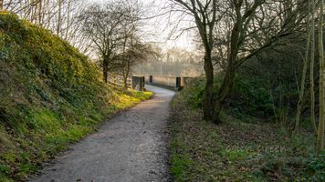 Spen Valley Greenway to the M62 Bridge