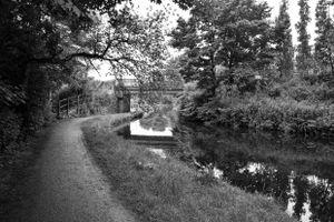 Copley Road Bridge.