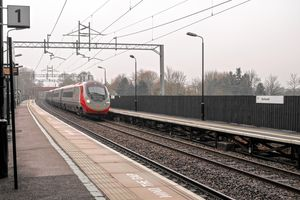 The Train At Platform 2