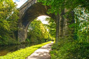 Copley Viaduct over the Canal.