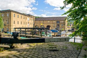 Warehouses 1 and 2 at Sowerby Bridge Canal Basin