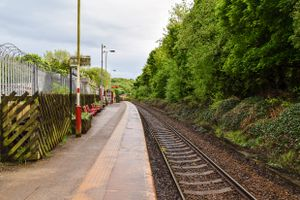Denby Dale Railway Station.