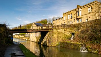 Edward Road Bridge, The Calder & Hebble Navigation