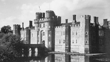 Herstmonceux Castle, Sussex 1960's
