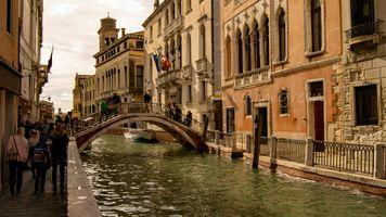 Ponte De Le Maravegif, Venice
