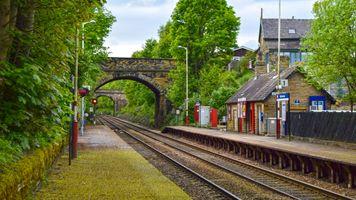 Stocksmoor Railway Station