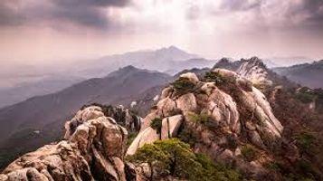 South Korea Mountains