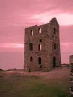 STAMPS ENGINE HOUSE WHEAL COATES CORNWALL