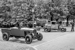 1928 Ford & 1931 Ford pickup hot rods