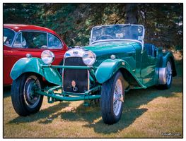 1937 HRG roadster