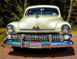 1951 Mercury 4 door sedan
