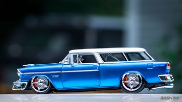 1955 Chevy Nomad 1-18 diecast model car