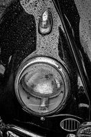 1962 VW Beetle in the Rain