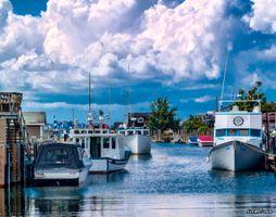 Boats in Fisherman's Cove