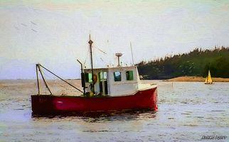 Sambro Fishing Boat