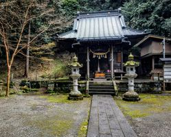 Traditional shrine in Kamakura, Kanagawa, Japan