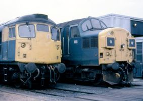 26007 and 37014 @ Millerhill - Adrian Bagguley