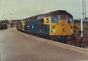 26024 and 26026 @ Forres on Inv to Abd 18aug83 - Tony Browne