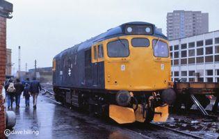 27010 @ Glasgow Works mar81 - David Hilling